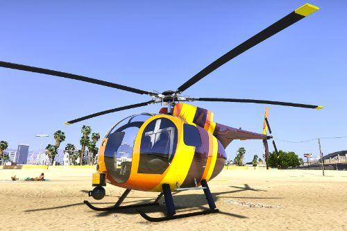 Magnum P.I. Helicopter skin for Nagasaki Buzzard Pack