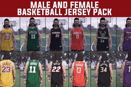 Male & Female Basketball Jersey Pack