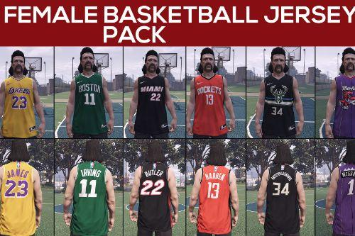 Male & Female Basketball Jersey Pack