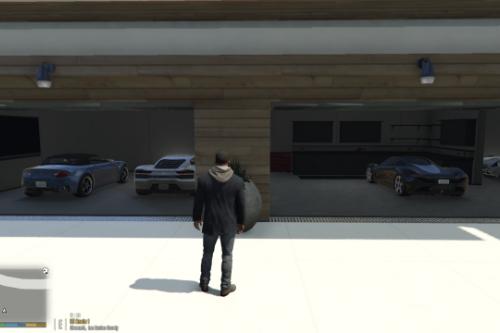 Malibu mansion billionaire scene [Map editor]