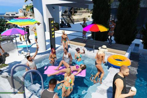 Malibu-House partyV(Menyoo)