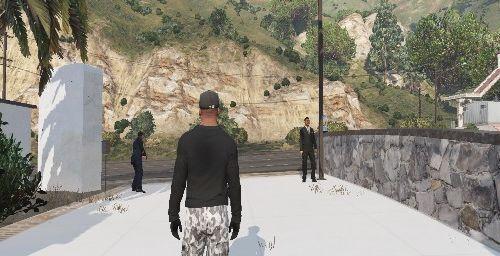 Malibu Mansion Security and Peds [Menyoo]