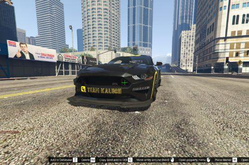 TeamKaluch Livery for Tk0wnz FordMustang19