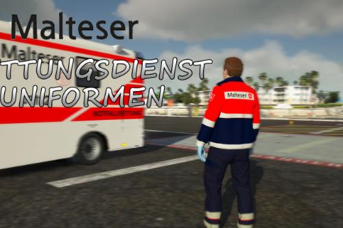 Malteser Rettungsdienst Uniformen EUP SUP