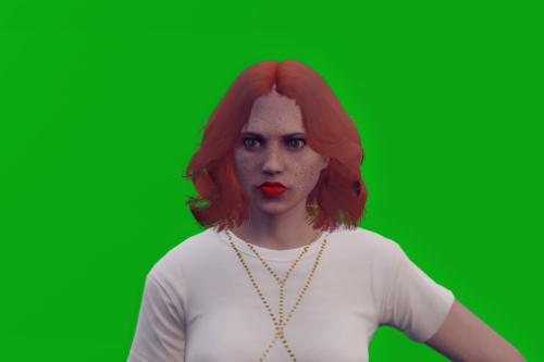 Mamma Mia hairstyle for MP Female