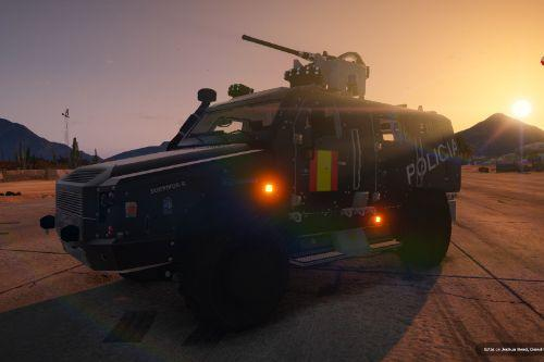 Man Rheinmetall Survivor R 4×4 Blindado Policia Nacional España CNP (Spain police) [ELS/add-on/fivem]