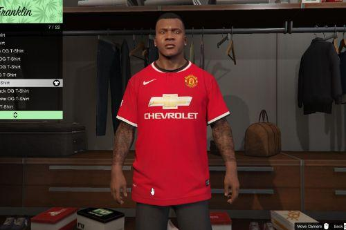 Manchester United Shirt for Franklin