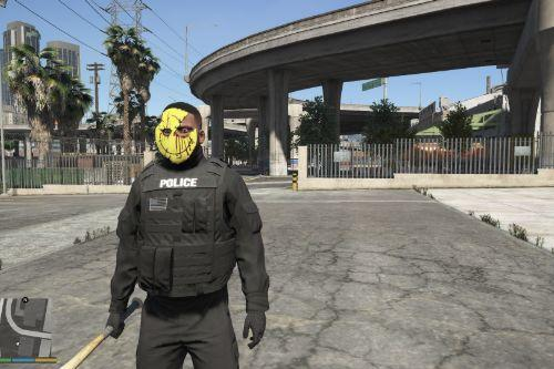 manhunt mask to franklin