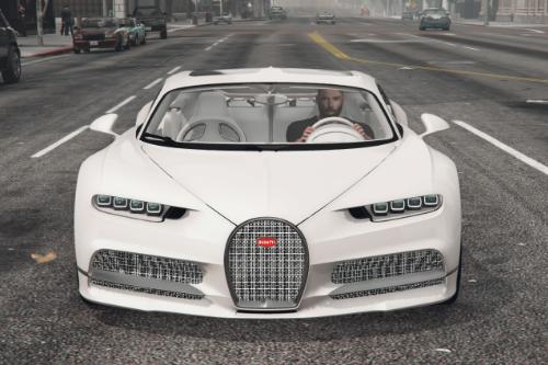 Manny Khoshbin Paintjob for Bugatti Chiron Hermes 1 of 1