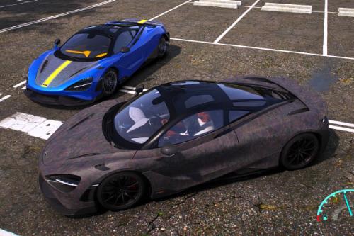 Mansory Carbon Template for Nejc's McLaren 765LT
