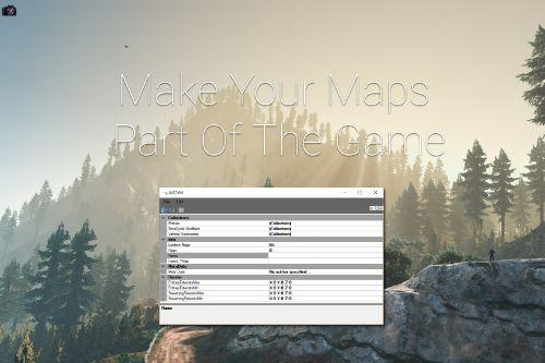 Map Editor & Menyoo to YMap Converter