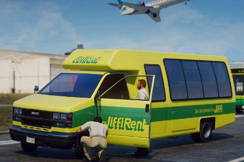 Mapped Rental Shuttle Bus [Replace | Liveries]