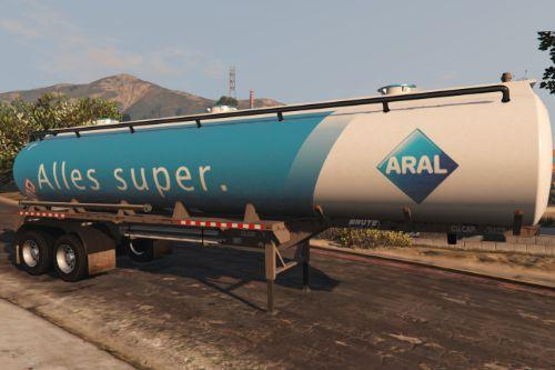 Mapped Tanker Trailers livery pack - German gas companies (Aral, Shell, Total) [Paintjobs]