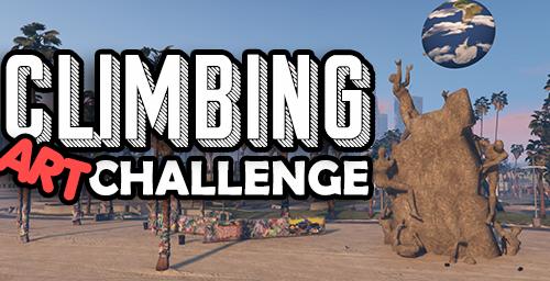 Beach Climbing Art Challenge [ FIVEM / SP / ALTV ] Ready