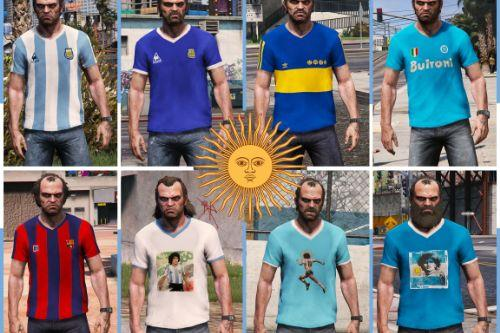 Maradona T-Shirt Pack pour Trevor