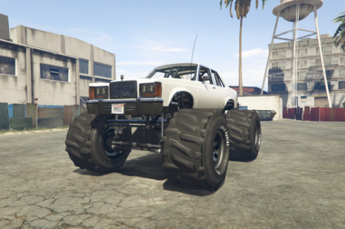 Willard Marbella Monster Truck [Add-On / Replace]