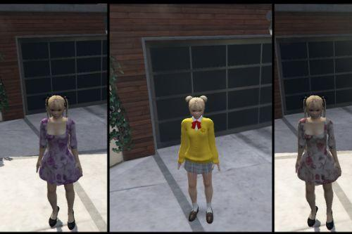 Marie Rose Casual Dress & Schoolgirl Strikers