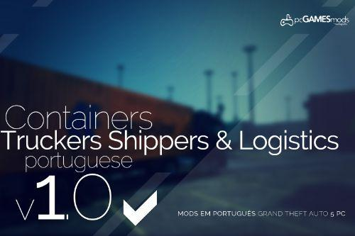 Maritime Container operating in Portugal + 3 Extras Trailer [Replace]