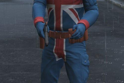 Marvel's Union Jack [Add-On Ped]