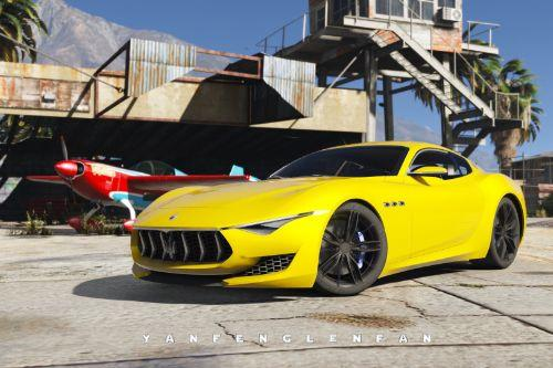 Maserati Alfieri 2014 Concept Car [Add-On]