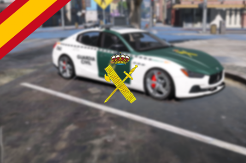 Maserati Ghibli Guardia Civil España [Add-On | Replace]
