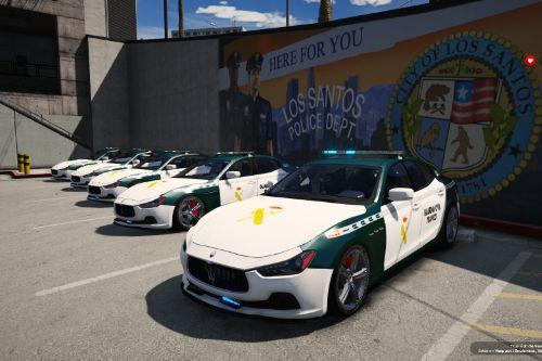 Maserati Ghibli Guardia Civil Tráfico [FiveM-ADD-ON]