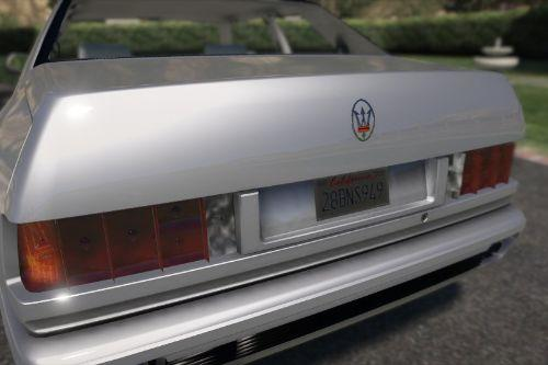Maserati Ghibli II (Add-on/Replace)