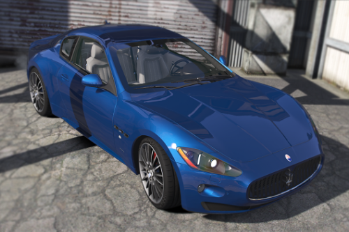 Maserati GranTurismo S [Add-On / Replace]