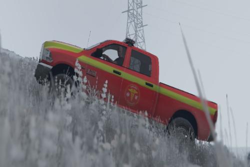 Masina utilitara de Pompieri 2016 Ram 2500