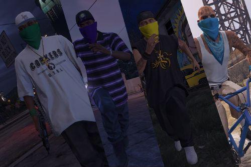 Masked Gang Peds [SP / FiveM]