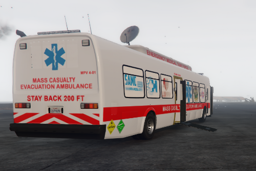 Mass Casualty Evacuation Ambulance Bus [ELS] ADD ON/REPLACE
