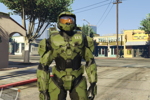 Master Chief Halo Infinite [Add-On Ped]