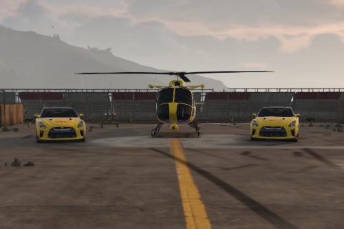 Maverick DHL Helicopter [Paintjob]