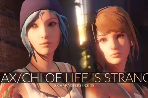Max Caulfield & Chloe Price Life is Strange [Add-On Ped | Replace]