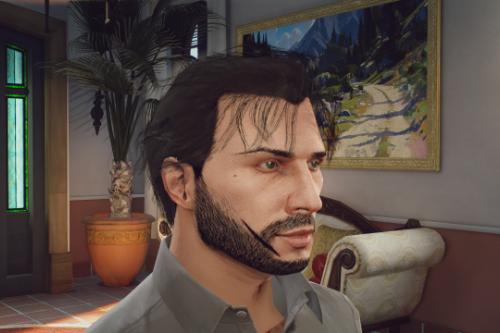 Max Payne 3 Hair For MP Male