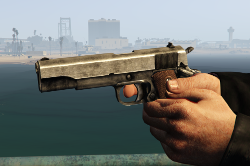 Max Payne 3 - M1911 Retextures (Remastered)