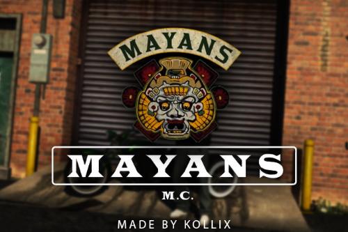 Mayans MC Pack MP Male Mc Vest [SP / FiveM]