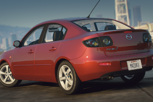Mazda 3 2005 sedan [Addon]