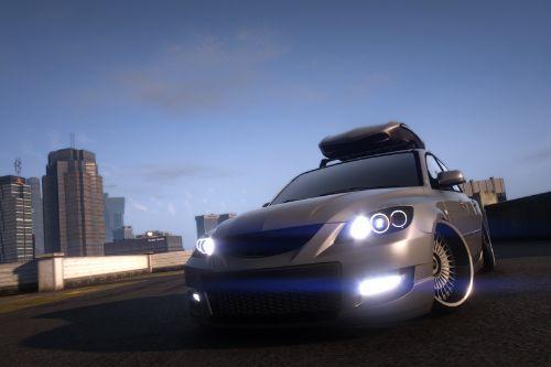 Mazda 3 MPS Stance