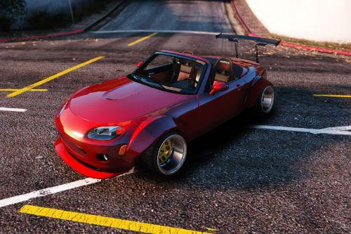 94a773 mazda mx5 widebody stanced 0001