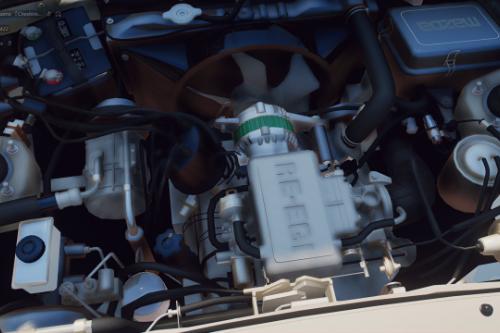 Mazda RX-7 13B Rotary Engine Sound [OIV Add-On / FiveM]