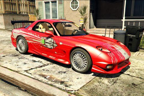 "Mazda RX-7 ""Fast and Furious"" [Add-On 