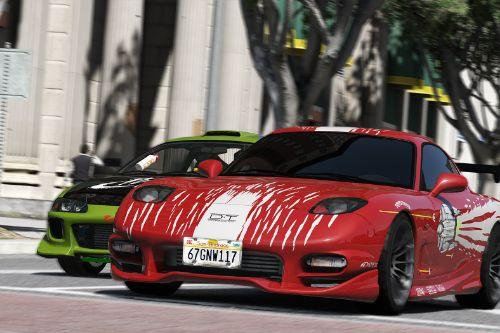 Dominic Toretto Mazda RX-7 Fast & Furious