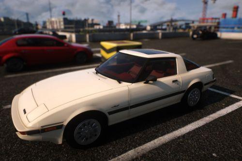1985 Mazda RX-7 FB GSL-SE [Add-On | Tuning | Livery | Sounds | LOD's | FiveM]
