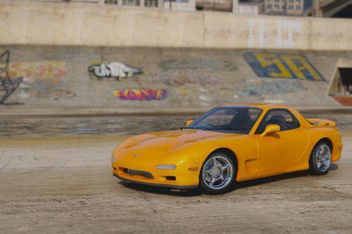 Mazda RX-7 FD [Add-On | Tuning | RHD]