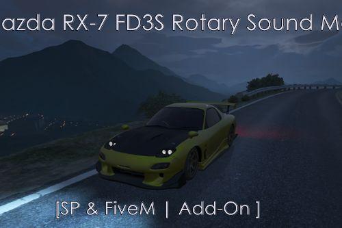 Mazda RX-7 FD3S Rotary Sound Mod
