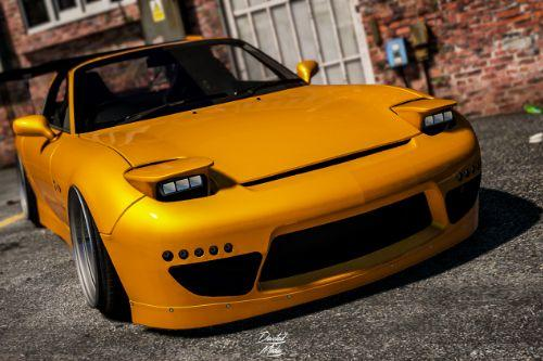 Mazda RX-7 [Super Tuning/Add-on]