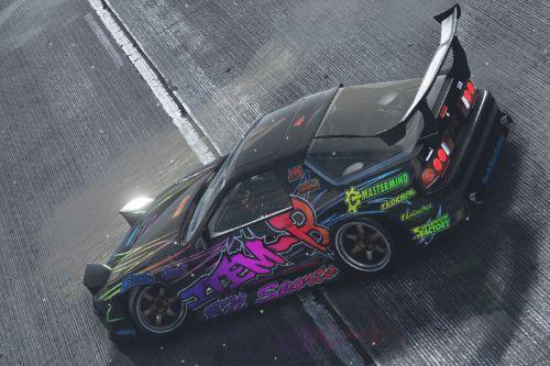 Mazda RX7 (FC3S) Item-B Livery