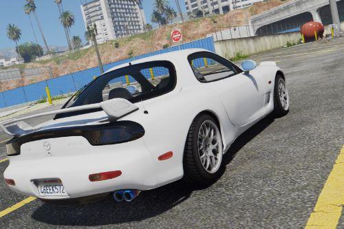 Mazda RX7 FD3S [Add-On / Replace | Tuning | Livery | Template]
