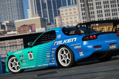 Mazda RX7 Spirit R (FD3S) - FALKEN livery